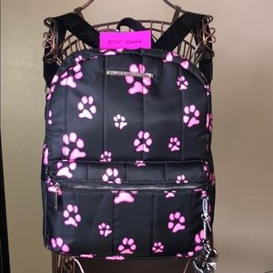 🐾🐾 Betsey Johnson Paw Print Backpack 🐾🐾